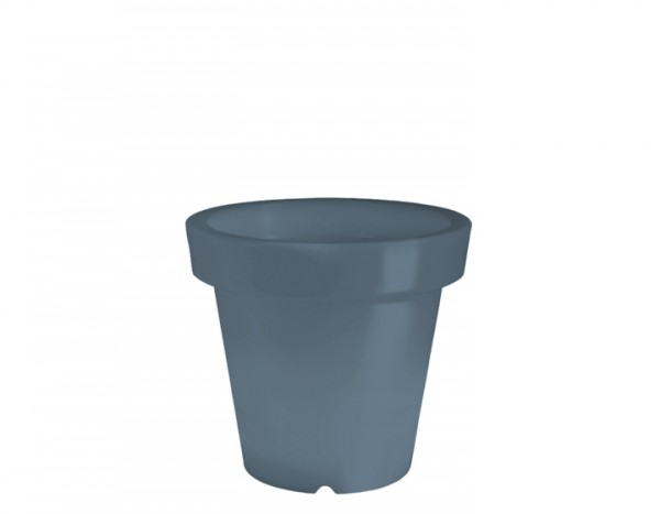 BLOOM! Pot Blumentopf ohne Licht, dunkelgrau H 40 cm