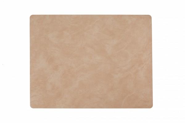 LindDNA Tischset square L Nupo Peach