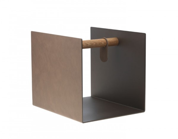 LindDNA Container Nupo Leder Sand/Alu Bronze