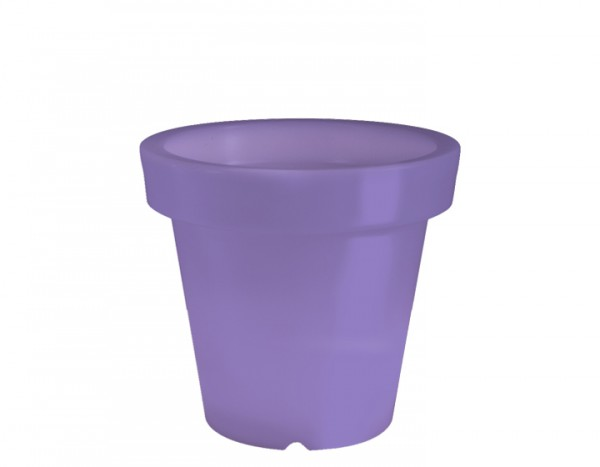 BLOOM! Pot Blumentopf ohne Licht, lila H 60 cm