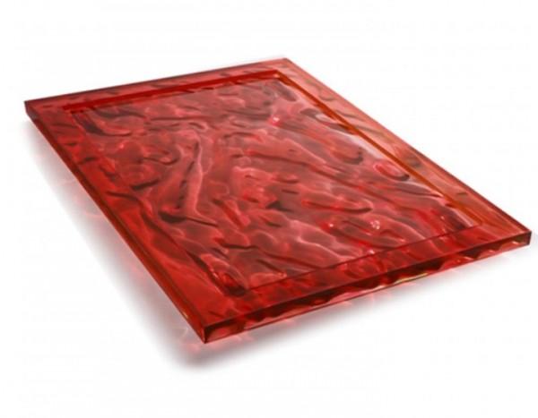 Kartell Dune Tablett B 46 cm, pink