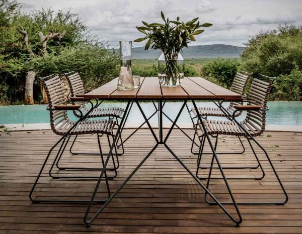 Houe Sketch Gartenmöbel Set1 Tisch mit 4 Stühle