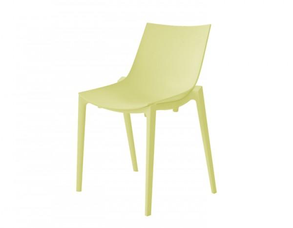 Magis Zartan Basic Stuhl gelb