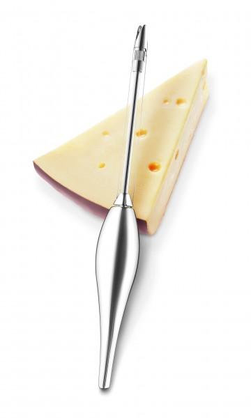 Eva Solo Käseschneider aus Edelstahl chrom glänzend