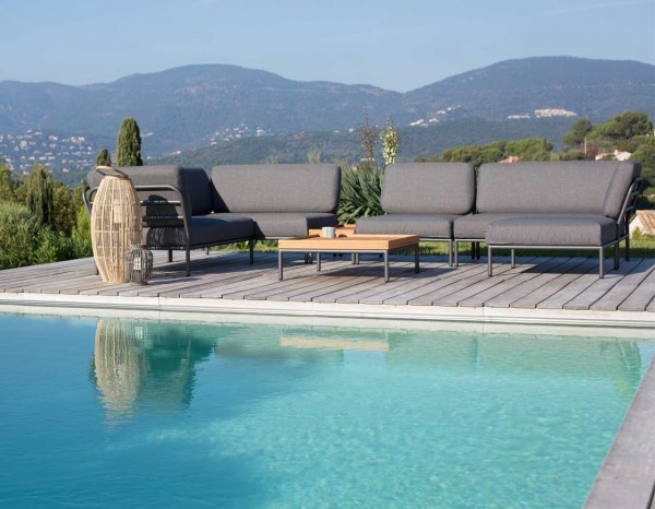 Tremendous Houe Level Lounge Outdoor Sofa Set 4 Cjindustries Chair Design For Home Cjindustriesco