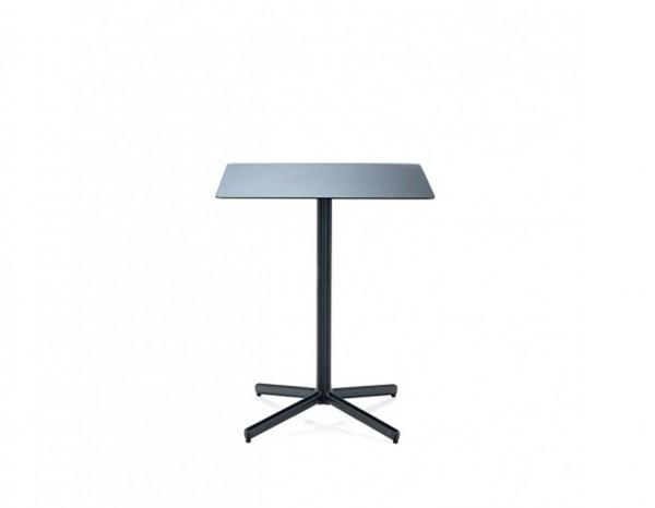 Houe FLOR Bistrotisch schwarz, quadratisch 60x60cm