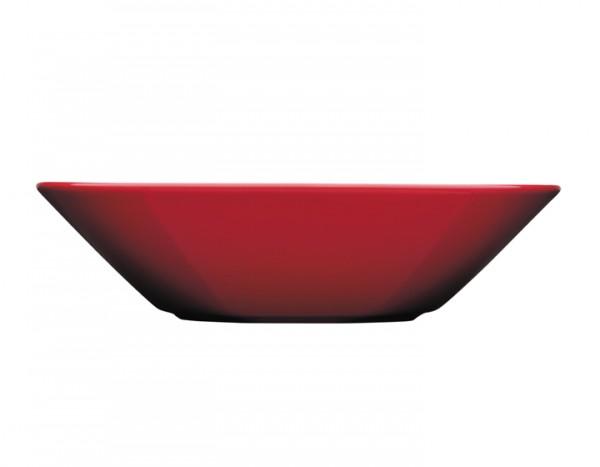 Iittala Teema rot, Teller tief 21cm Weihnachts-Edition